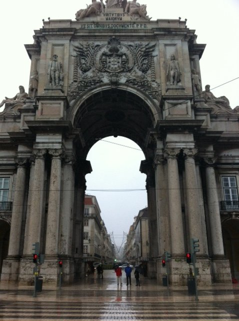 Praca de Commercio, Lisbon
