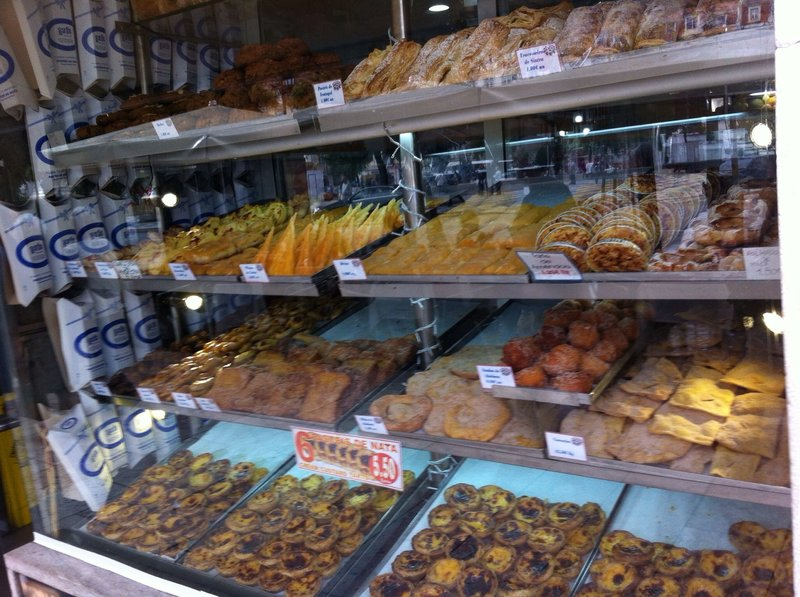 Pastries in the Rossio