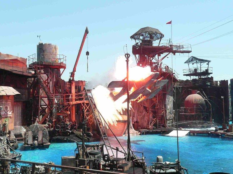 Los Angeles Universal Studios Waterworld