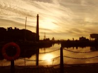 The Albert Dock.