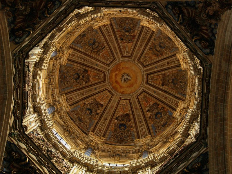 The Baroque Interior of the Dome