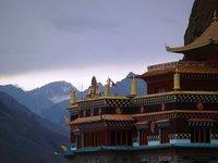 The Monastery at Kaza