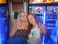 running the bar at mantis and moon- south africa
