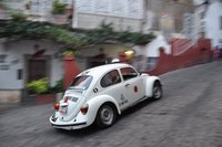 Taxi speeding in Taxco