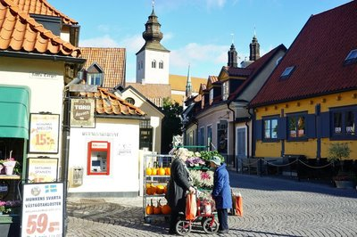 Main square in Visby