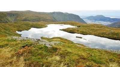 Hike above Bergen