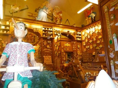 Pinocchio's Wood Shop