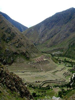 Llactapata - Terrace Town