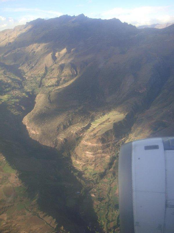 First glimpse of Cusco