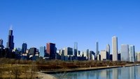 My favourite view of the Chicago skyline