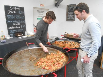 Old Biscuit Mill Market (Paella)