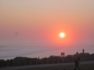 Sonnenuntergang am Blaauwberg Strand