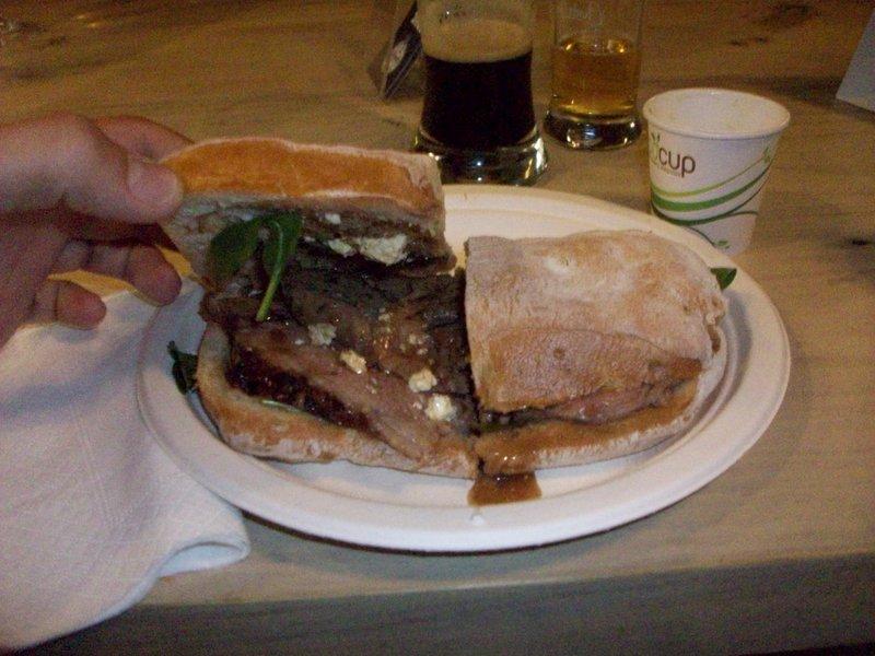 Lamm-Sandwich