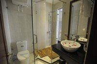Bathrooms in family room