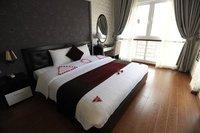 Deluxe city view room in Hanoi Victory Hotel
