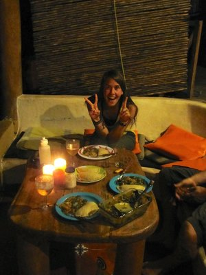 21st Birthday Dinner in the Nicaraguan Jungle--Not Bad.