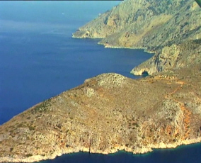 Gioura island in the Northern Sporades