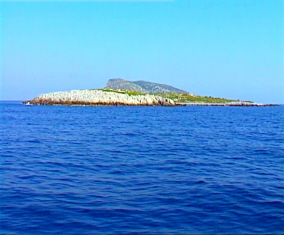 Grameza island in the Northern Sporades