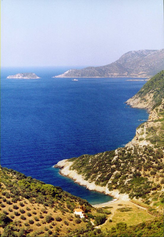 Alonissos, Vrisitsa beach