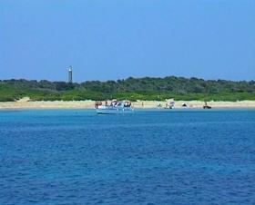 Psathoura island in the Northern Sporades