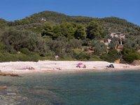 Megali Ammos beach on Alonissos