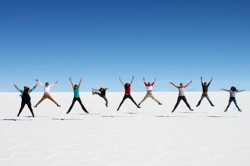 Fun on the Salt Flats