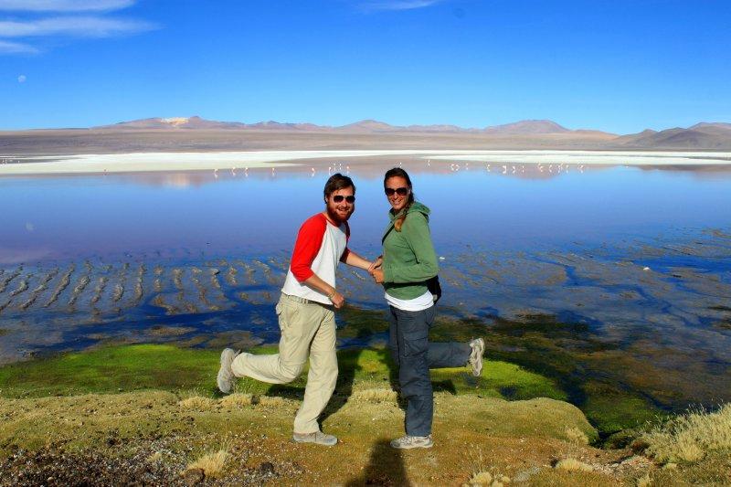 Flamingo Impressions at Lago Colorada