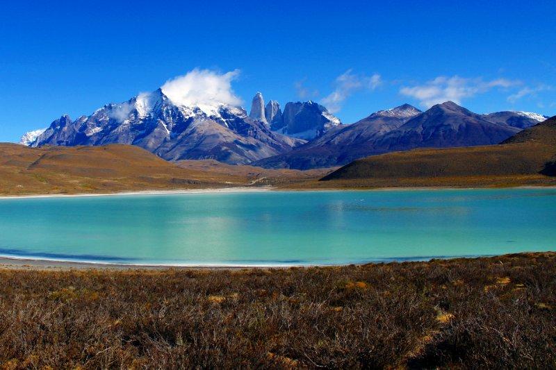 Lago Azul - Torres del Paine