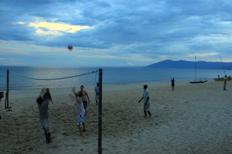 Beach volley...game, set, match!