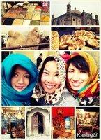 Friends in Kashgar