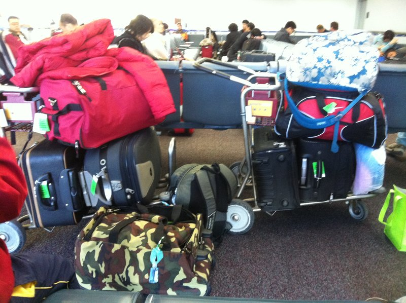 carry-on luggage at ORD