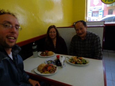 Chinese food in Lima with Emma and Alfonso