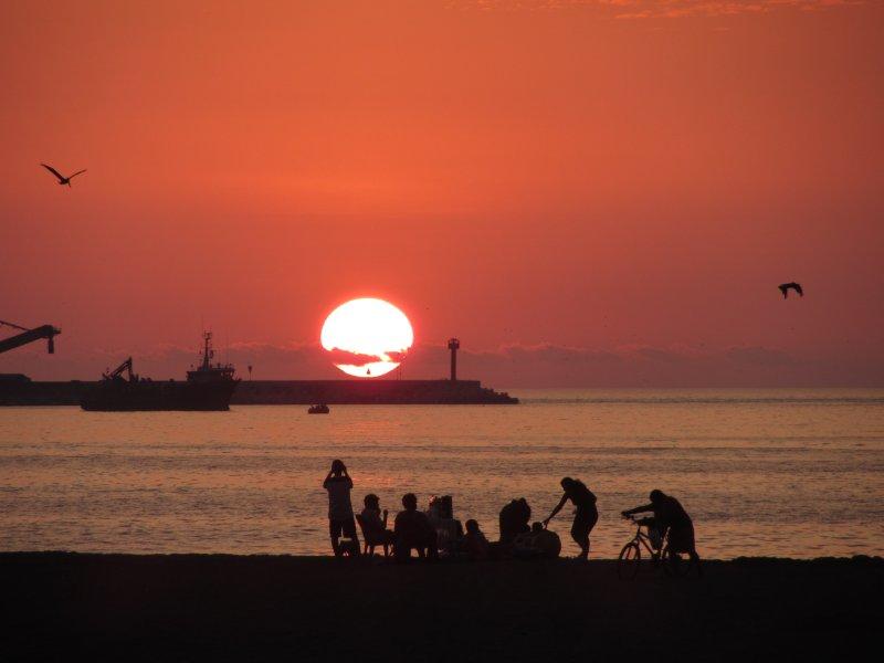 Sunset in Arica