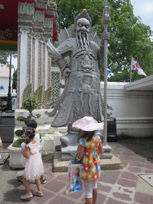 Keeper of the Gate-- Wat Pho.