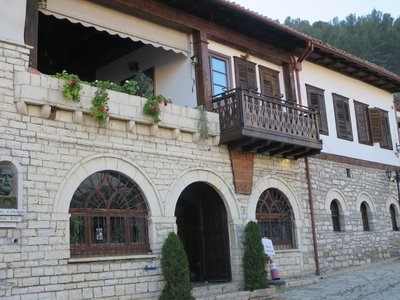 My hotel in Berat