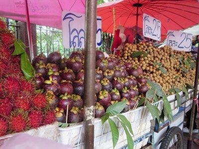 Fruit stalls at Chatuchak