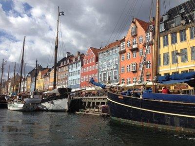 Copenhagen (start to the canal tour)