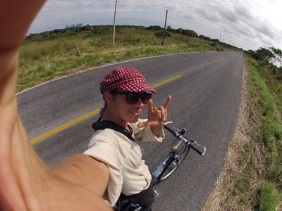 Biking around Mexico