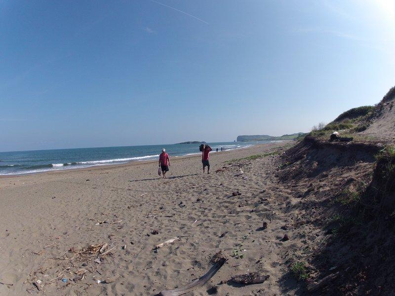 The beach at Roca Partida town of Toro prieto