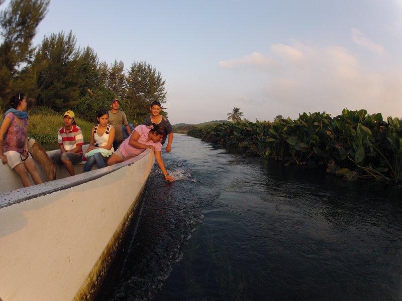 Boat outing in Toro Prieto