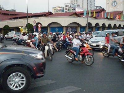 The Traffic In HCMC