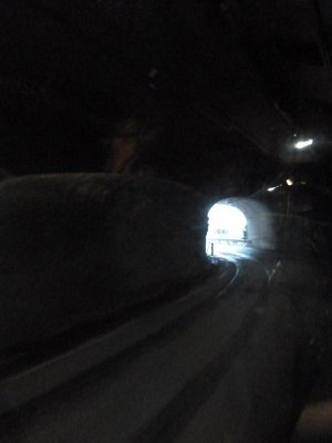 There were LOTS of tunnels on the road down to Aurland