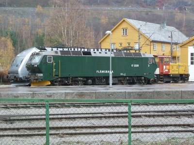 The Flam Railway Locomotive