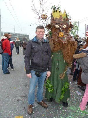 Me at Luzern Carnival
