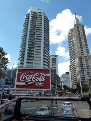 The Coca Cola Sign at Kings Cross, the largest billboard in the Southern Hemisphere