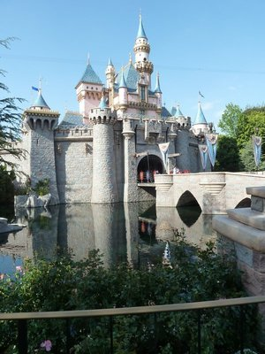 Sleeping Beauty's Castle in Disneyland