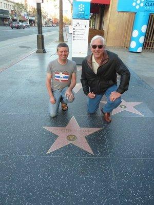Sylvester Stalone's Star on Hollywood Boulevard