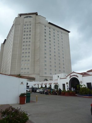 The Pacifico Tower at the Rosarito Beach Hotel