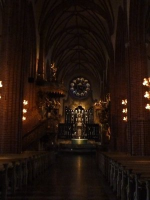 The Altar inside Storkyrkan (Stockholm Cathedral)