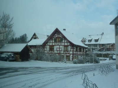 A Swiss Village on the way to Schaffhausen